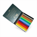 Faber-Castell - Blik met 24 Polychromos Artist Potloden