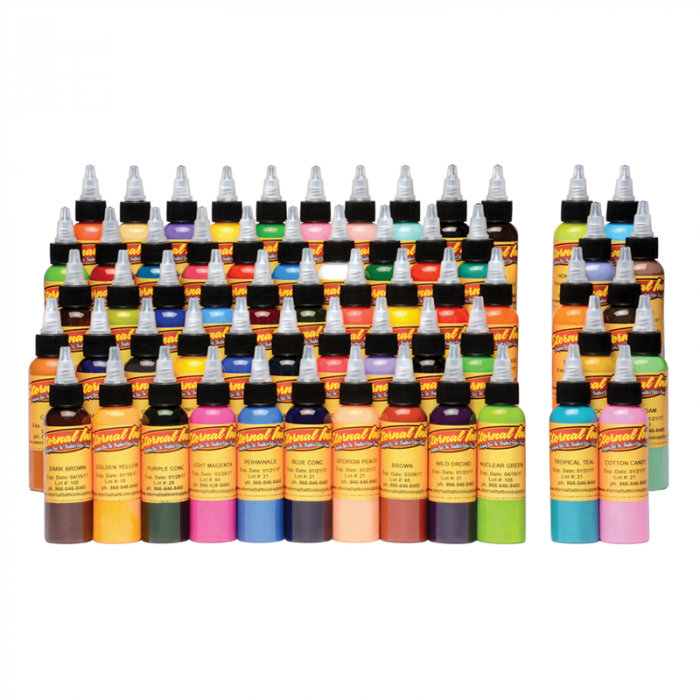 Complete Set met 60 Eternal Ink - Gouden Set 30ml (1oz)