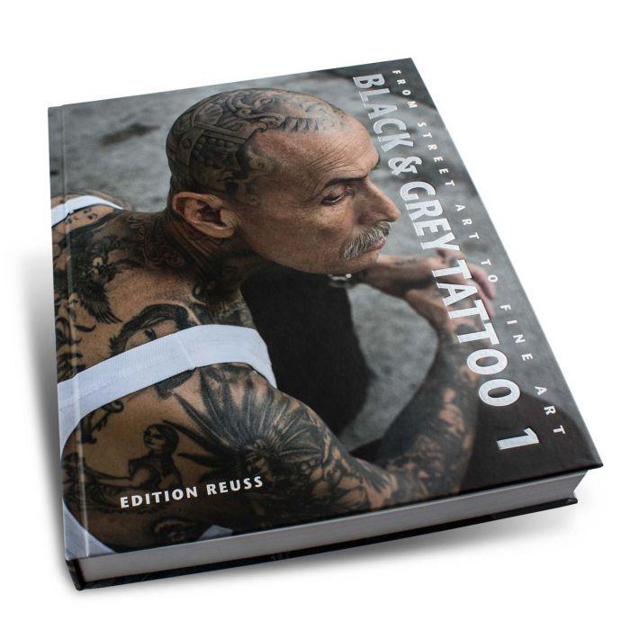 Boek: Black & Grey Tattoo: 1 - Edition Reuss