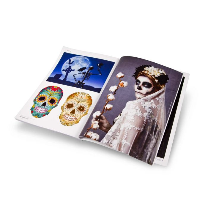Boek: La Catrina And Sugar Skulls
