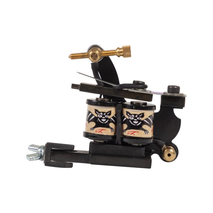 Bristol Tattoo Club Tattoo Machine - Les Skuse Shield