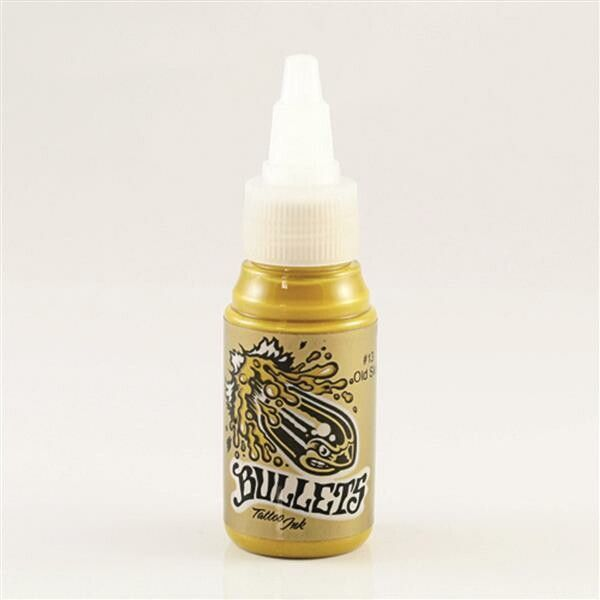 Bullets Tattoo Ink Old Skull 35ml