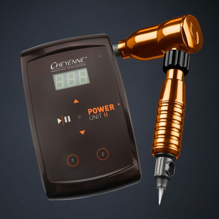 Cheyenne Hawk Spirit Drive + Grip + Power Supply Pakket in Oranje
