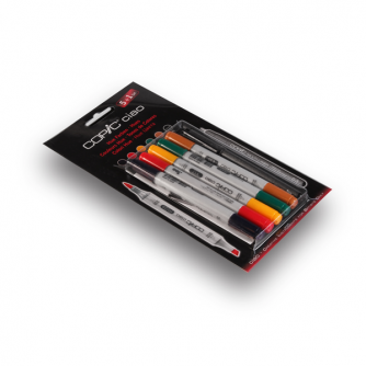 Copic CIAO Markers - Hues - Pak met 5+1