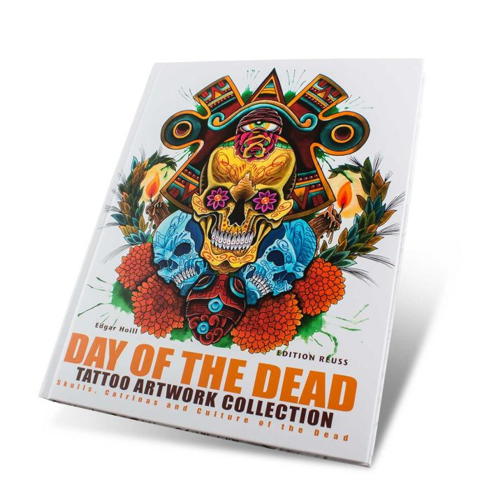 Boek: Day of the Dead: Tattoo Art Collection - Edition Reuss