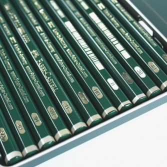 Faber-Castell - Castell 9000 Design Set met 12 Potloden