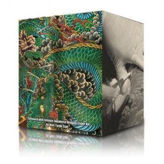Complete Set met 6 Intenze Ink Dragon Kleuren 30ml (1oz)