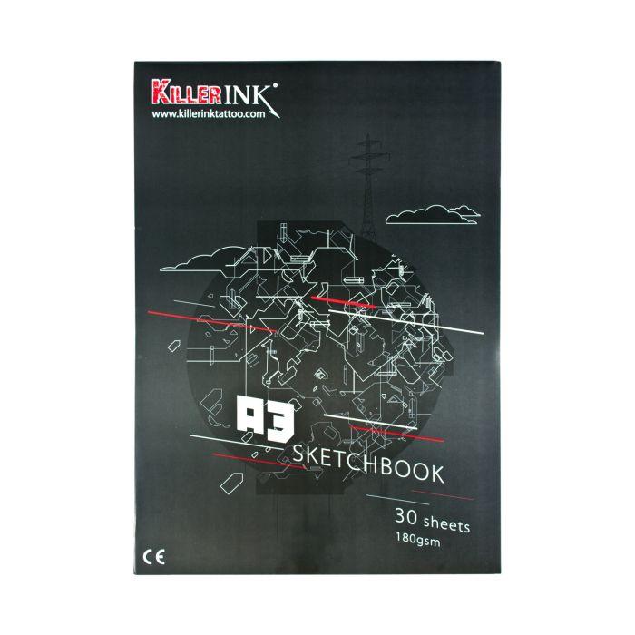 Killer Ink 63GSM Overtrekpapier Blok A3 of A4 (50 vellen)