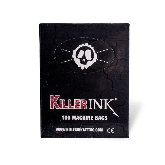 Doos met 100 Killer Ink Tattoo Machine Zakken