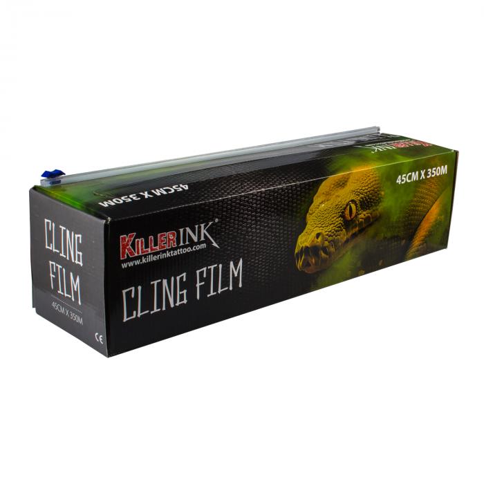 Killer Ink Easy Cut Plastic Folie in Dispenser 350m x 45cm