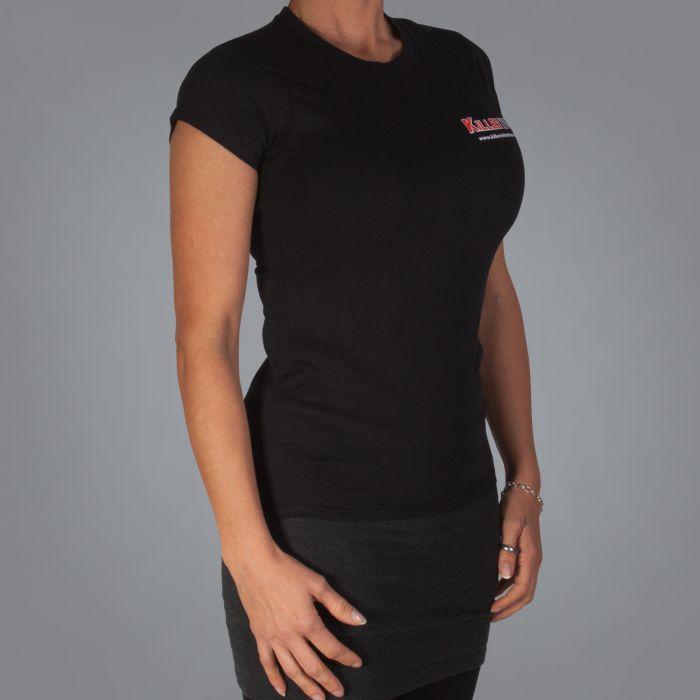 Killer Ink Dames T-Shirt - Zwart