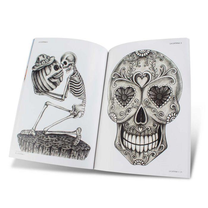 Boek: La Catrina II Book & Sugar Skulls