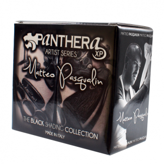 Complete Set met 8 Panthera Matteo Pasqualin - The Black Shading Collection 30ml