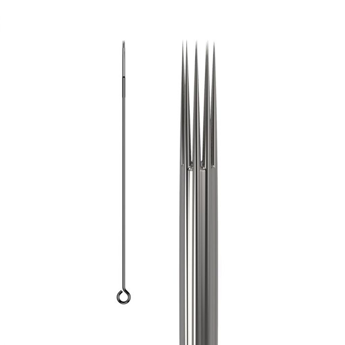 Doos met 50 KWADRON Naalden 0.30MM LONG TAPER - Round Shader