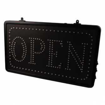 Ophangbaar (Ketting) Open LED Studio Bord EU