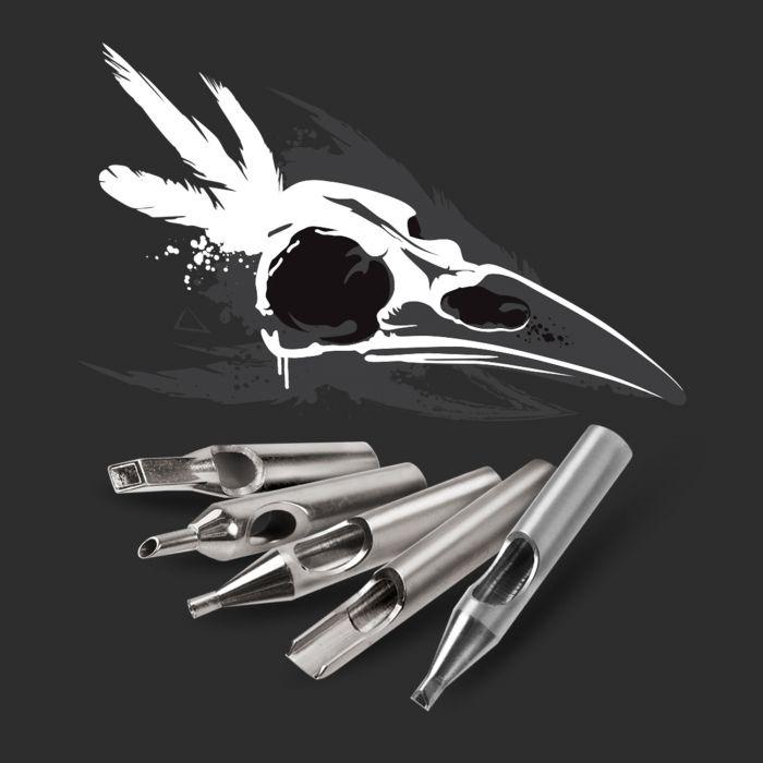 Killer Ink 36 Piece 316 Roestvrij Stalen Tip Round, Diamond + Magnum Premium Set